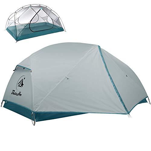 ButcHer Zelt, Camping Zelt Kann beherbergen 2 Personen Zelt Winddicht & Wasserdicht PU 3000MM +,Anti-UV, 4 Saison Kuppelzelt Einfache Installation für Trekking, Outdoor, Festival, Camping, Rucksack.