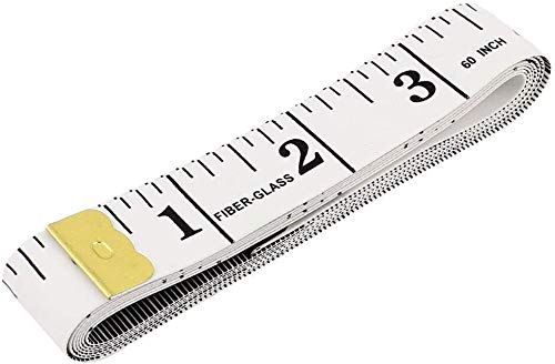 Bestdeal 150cm 60 Inch Body Measuring Sewing Cloth Tailor Tape (2 Pieces)