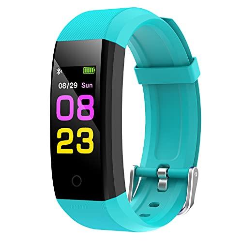GeeRic Fitness Armband 115Pro mit Pulsmesser Blutdruckmessung Smartwatch Fitness Tracker Wasserdicht IP67 Fitness Uhr Schrittzähler Pulsuhr Sportuhr für Damen Herren ios iPhone Android Handy
