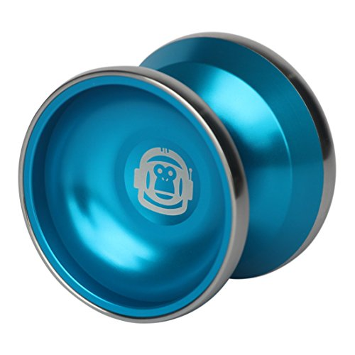Spintastics Space Monkey Professional Bimetal Aluminum Steel Yoyo with Long Spin Ball Bearing...