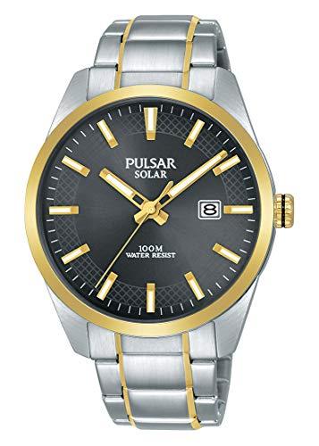 Pulsar herenhorloge, analoog, kwarts, met armband van roestvrij staal PX3184X1