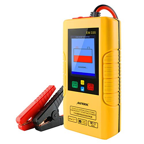 Find Discount 1000A Peak Supersafe Car Jump Starter (Up to 5.0L Gas Engine) with USB Quick Charge, i...