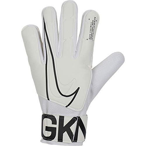 Nike NK GK MATCH-FA19 Soccer Gloves, White/(Black), 11
