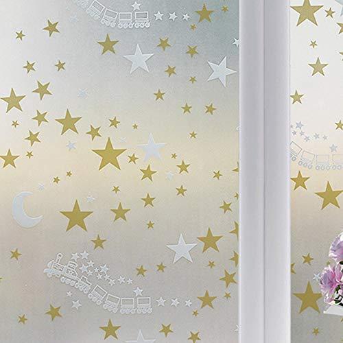 LMKJ Ventana de Papel Autoadhesivo Aislamiento térmico Protector Solar película de Vidrio Pegatina de Papel película de decoración del hogar A5 30x200cm