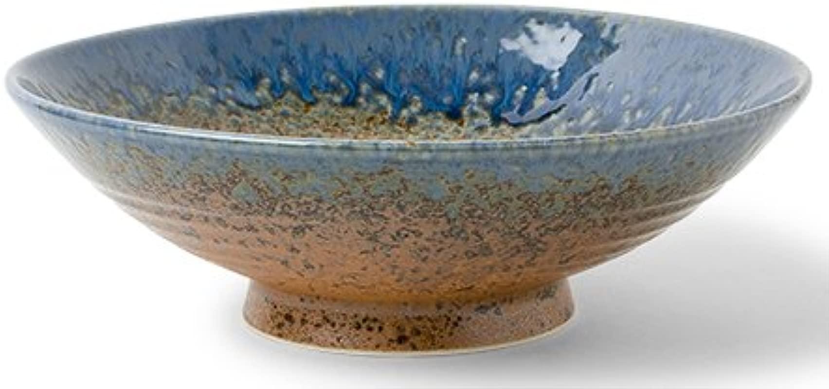 Aoi Nagashi 9 5 Ceramic Serving Bowl