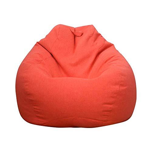 Euopat Sofá Bean Bag,Lazy Lounger Bean Bag Funda para Silla De Almacenamiento para Adultos Y Niños, Ideal para Silla De Juego Y Silla De Jardín, 90x110cm