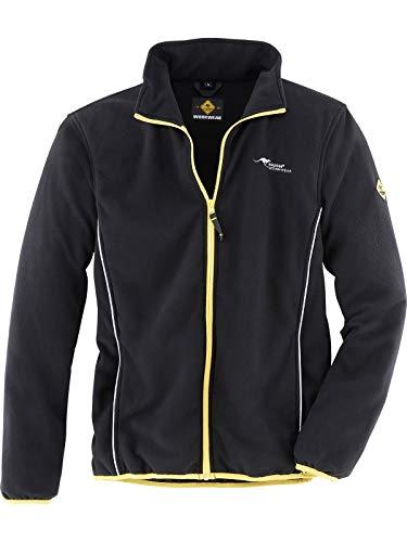 Roadsign 61779-2XL-1090 Fleecejacke, schwarz/gelb