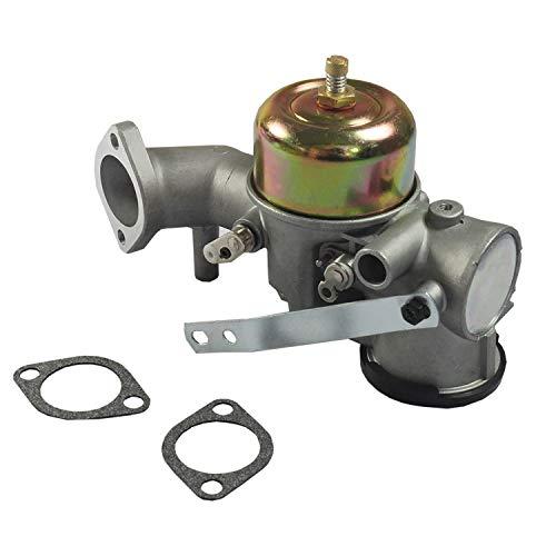 CARMOCAR Carbhub 491026 Carburetor replacement for Briggs & Stratton 12HP Engine Motor Snapper Mower Carb Replaces Part # 491031 490499 281707 281707 391788 393302 -  WS-E416