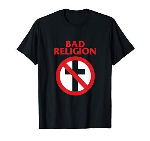 Bad Religion - Official Merchandise - Crossbuster Logo Camiseta
