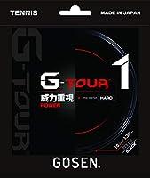 ゴーセン(GOSEN) テニス ガット ジー・ツアー・ワン 16 ブラック TSGT10BK