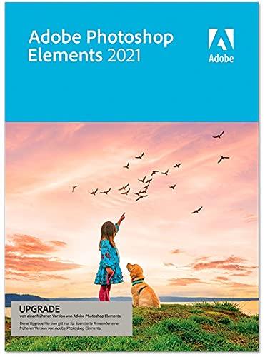 Adobe Photoshop Elements 2021 - Upgrade Upgrade 1 Gerät unbegrenzt PC/MAC Disc Disc