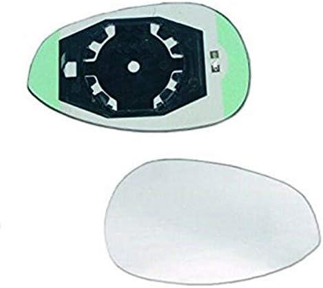 Glas rechts chroom thermoglas voor FIATIVECO 500 vanaf 072015