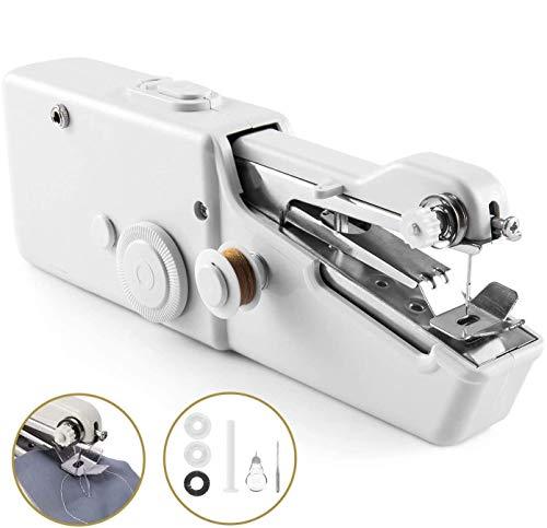 UYKSWSW Small Sewing Machine Handheld Sewing Machine Sewing Electric Portable Mini Portable Sewing Machine