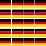 GreenIT 20 Stück 2cm Fahne Länder Flagge BRD Deutschland RC Modellbau Mini Aufkleber Sticker Modellbauaufkleber