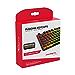 HyperX Pudding Keycaps - Double Shot PBT Keycap Set with Translucent Layer, for Mechanical Keyboards, Full 104 Key Set, OEM Profile, English (US) Layout - Black (Renewed)
