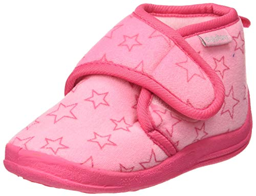Playshoes Unisex-Kinder Pastell Hohe Hausschuhe, Pink (rosa 14), 20/21 EU