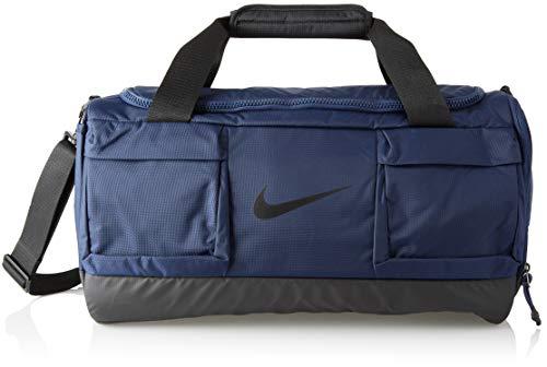 Nike 2018 Sporttasche, 45 cm, 3 liters, Mehrfarbig (Midnight Navy/Negro)