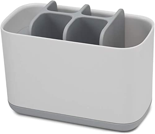 Joseph Joseph Easy-Store Toothbrush Caddy Large - Grey/White