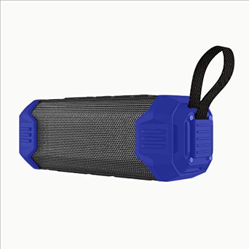 Power Bank Portable Wireless Bluetooth Speaker Subwoofer Soundbar Waterproof Music Smart Speakers for Charge Mobile Phone|Portable Speakers, Blue