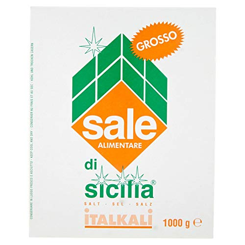 Sale di Sicilia Sale Alimentare Grosso - 1000 gr