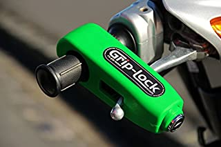 Grip-Lock – The original and genuine Motorcycle and Scooter Security Lock - Bright Green
