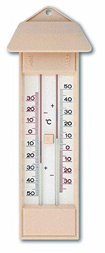 TFA 10.3015.03 - Termómetro de máxima y mínima, líquido ecológico