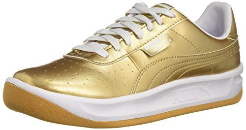 PUMA Baby California Kids Sneaker, Team Gold White, 10 M US Toddler