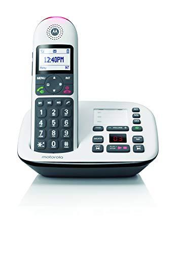 Motorola CD5011 CD5 Series Digital Cordless Telephone with Answering Machine (1 Handset)