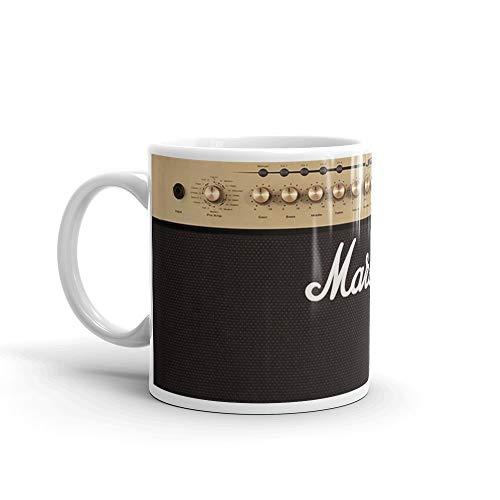 Marshall Guitar Double Amplifier Mug 11 Oz White Ceramic
