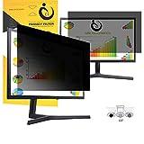 VIUAUAX 25'' inch Privacy Screen Filter for Desktop Computer Widescreen Monitor - Anti-Glare, Blocks 96% UV,Anti-Scratch with 16:9 Aspect Ratio - 21.8' x 12.3'