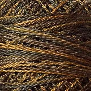 Valdani Perle Cotton Size 8 Embroidery Thread, 72 Yard Ball - p09 Bronze (variegate)