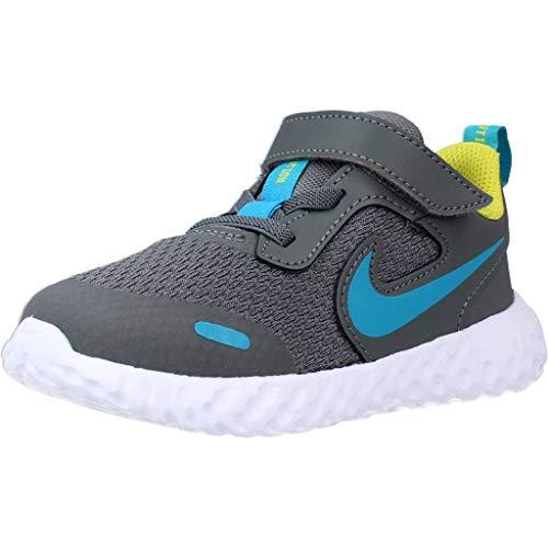 Nike Revolution 5 TDV Scarpe Sportive Bambino Grigie BQ5673019 Grigio 25 EU