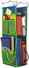 LockerWorks 2 Shelf Hanging Locker Organizer, Sturdy & Compact, 23-25