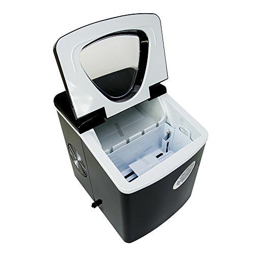 Machine à glace, Machine à Glaçons PNI Summer P3, 12kg de glace en 24 heures, 3 tailles de formes de...