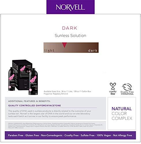 Norvell Premium Sunless Tanning Solution - Dark