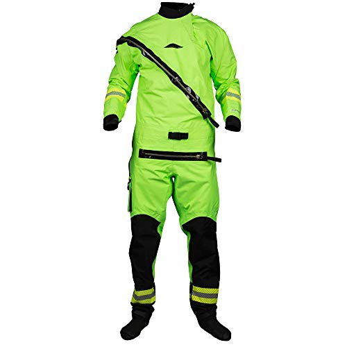 NRS Extreme SAR Drysuit-HiVizGrn-L/XL