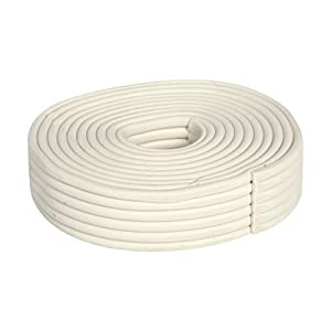 Duck Brand Press to Seal Rope Caulk, White, 1/8-Inch Wide x 35-Feet Long, Single Roll, 283580