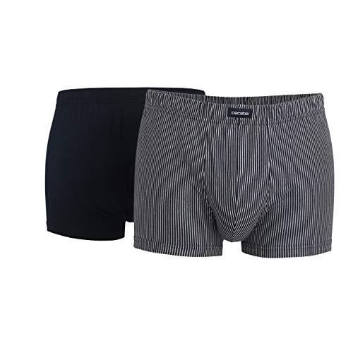 Ceceba Short Pants 2er Pack 7 / XL Blau-Dunkel-Uni (630)