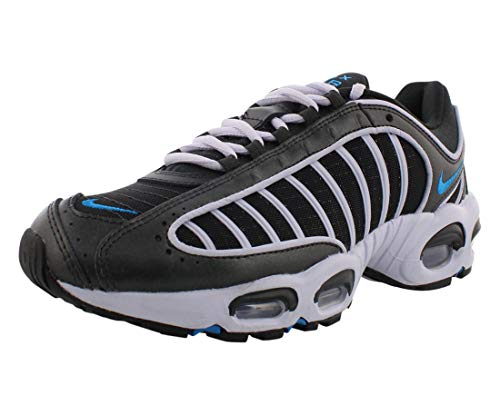 Nike Women's Air Max Tailwind IV Running Shoes (Off Noir/Blue Hero, 7)