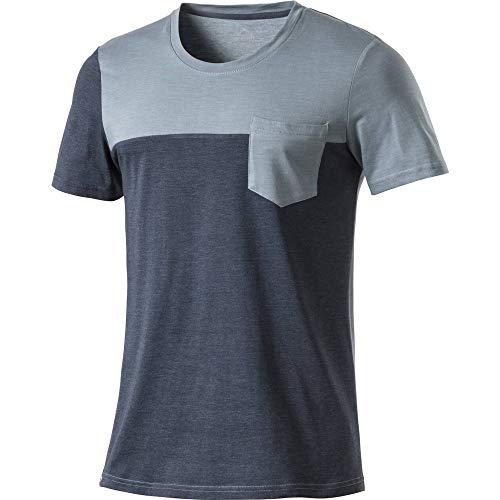 McKinley Joffre T-shirt de randonnée pour homme Bleu fumé Taille M