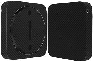Skinomi Black Carbon Fiber Full Body Skin Compatible with Apple Mac Mini (Late 2012)(Full Coverage) TechSkin Anti-Bubble Film
