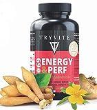 Augmente l'énergie,renforce l'immunité,aide a brûler les graisses:L carnitine 800mg+Ginseng+coenzyme q10+Maca+vitamine C,D3,E,B+zinc+sélénium/120 gélules végétale/Fabriqué en France