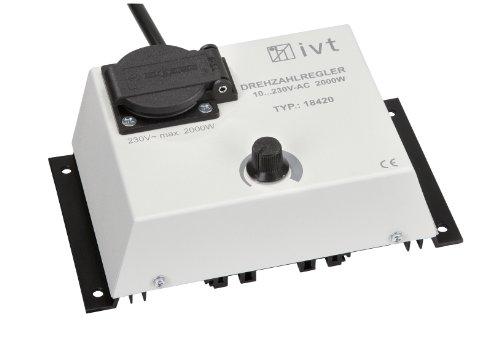 IVT 700100 Drehzahlregler DR-2000