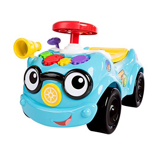 Baby Einstein, Roadtripper tututmobil, jouet véhicule à pousser ou conduire, 12 mois et +
