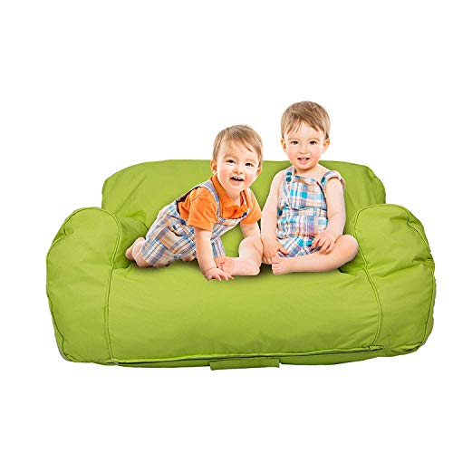 Livebest Soft Kids Bean Bag Chair Seat Toddler Memory Sponge Lounger Sofa Furniture ,Bright Color Available for Boys and Girls