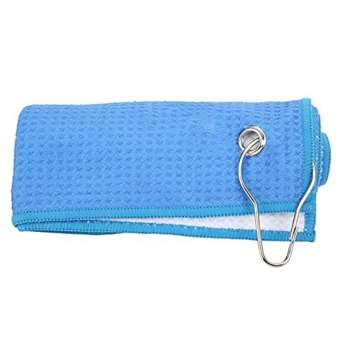 BOLORAMO Toalla de Microfibra, Toallas de absorción de Agua Toalla de Club de Limpieza Conveniente para Llevar un Embalaje Exquisito para la Limpieza(Azul)