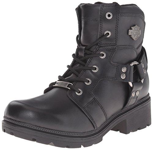 HARLEY-DAVIDSON FOOTWEAR Damen Jocelyn Stiefel, (schwarz), 41.5 EU