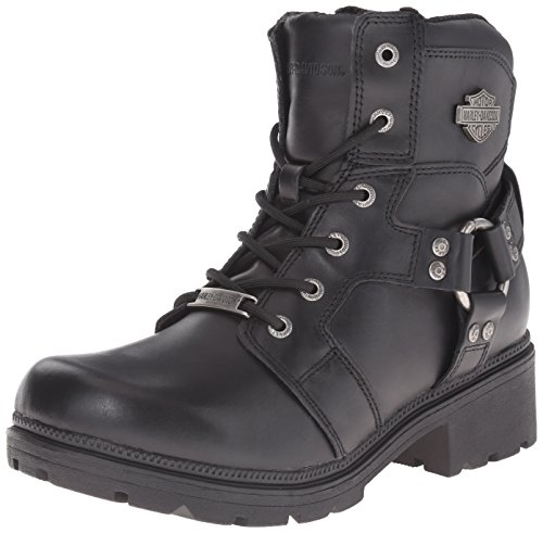 Harley-Davidson Women's Jocelyn Motorcycle Boot, Black, 10 M US