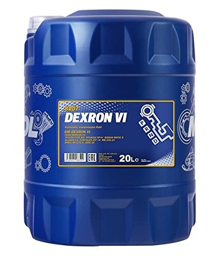 MANNOL 1 x 20L ATF Dexron VI/ATF Automatikgetriebe- Sevo- Öl 236.14