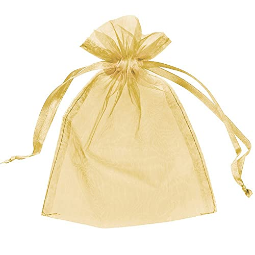 Organza Bags Wedding Favours Party Jewellery Pouches Mesh Drawstring Gift...